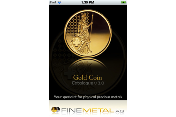 iGoldCoin_iPhone_App_splash_Finemetal