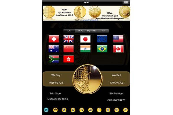iGoldHD_iPad_App_home_Finemetal