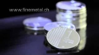 Silverounce 999 by Finemetal Switzerland