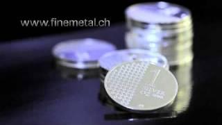 Die Finemetal Silberunze ist da